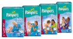 Pampers Nappies discount codes