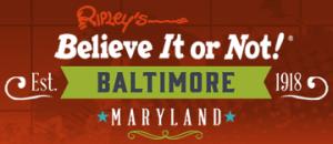 Ripley's Baltimore discount codes