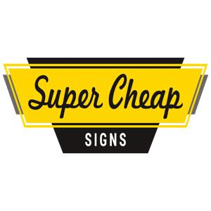 Super Cheap Signs discount codes