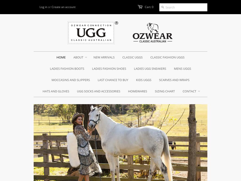 Ozwear UGG discount codes