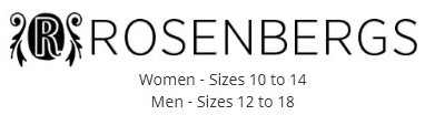 Rosenberg Shoes discount codes