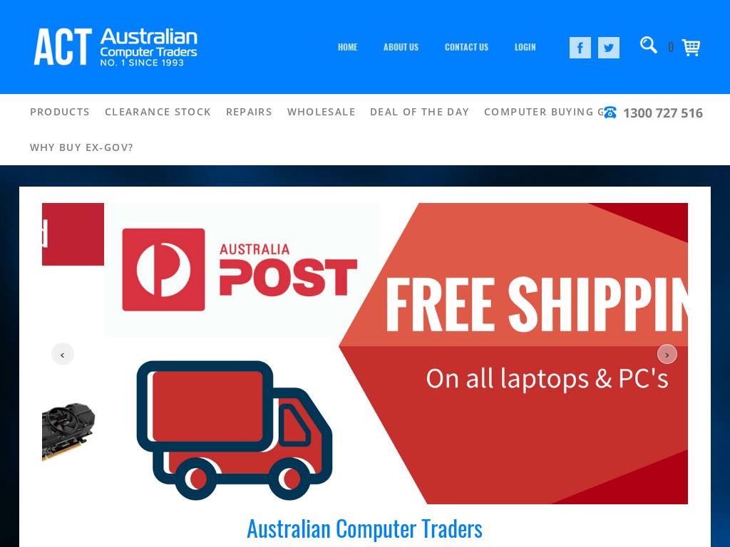 Australian Computer Traders discount codes