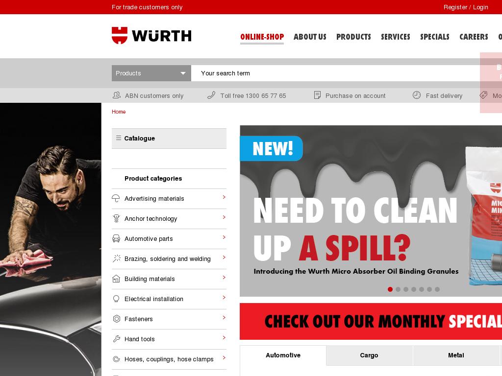 Wurth discount codes